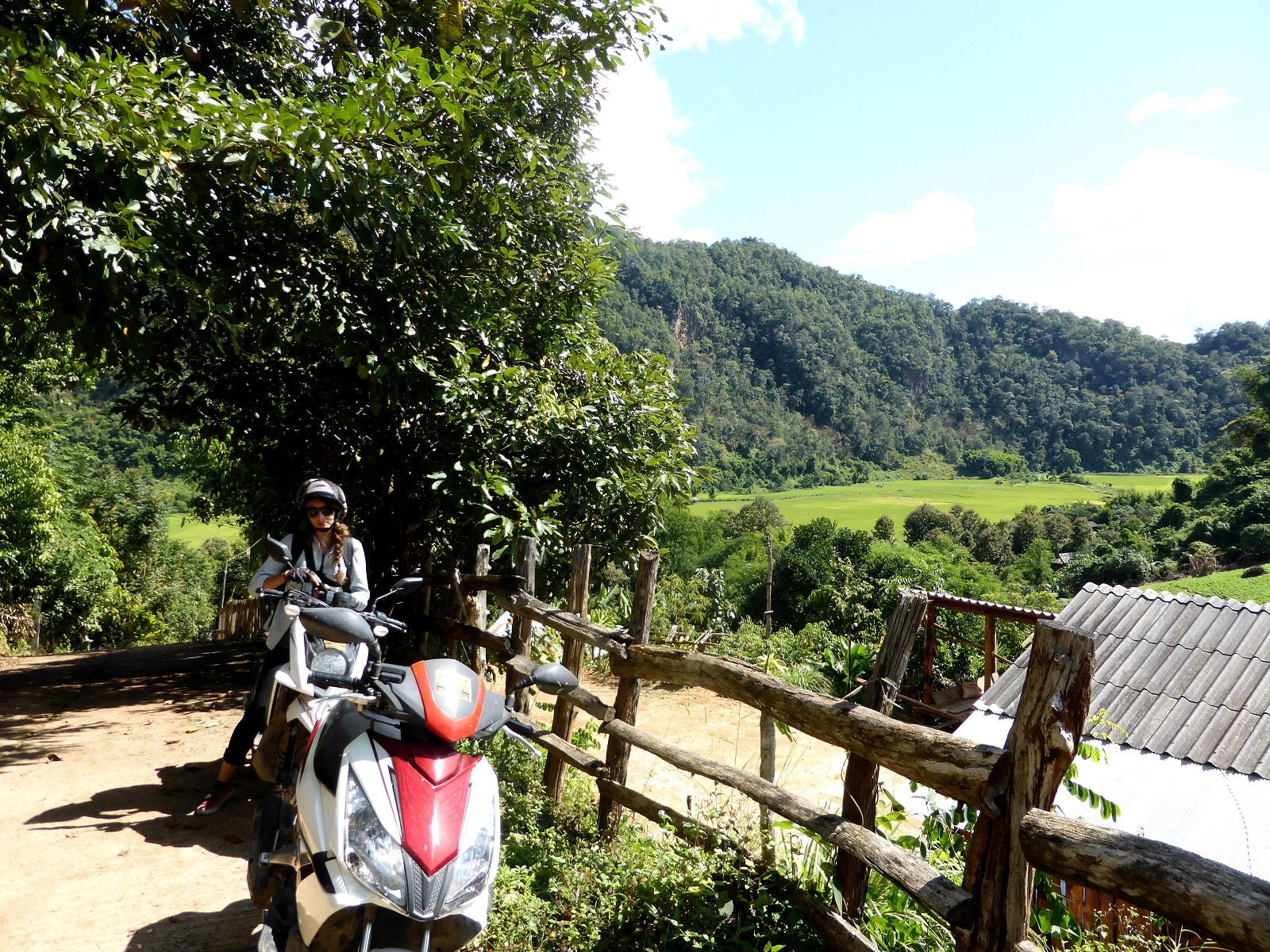 Road-trip à moto dans le Nord-Ouest de la Thaïlande