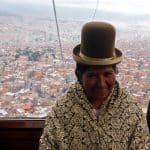Vue téléphérique La Paz-Bolivie