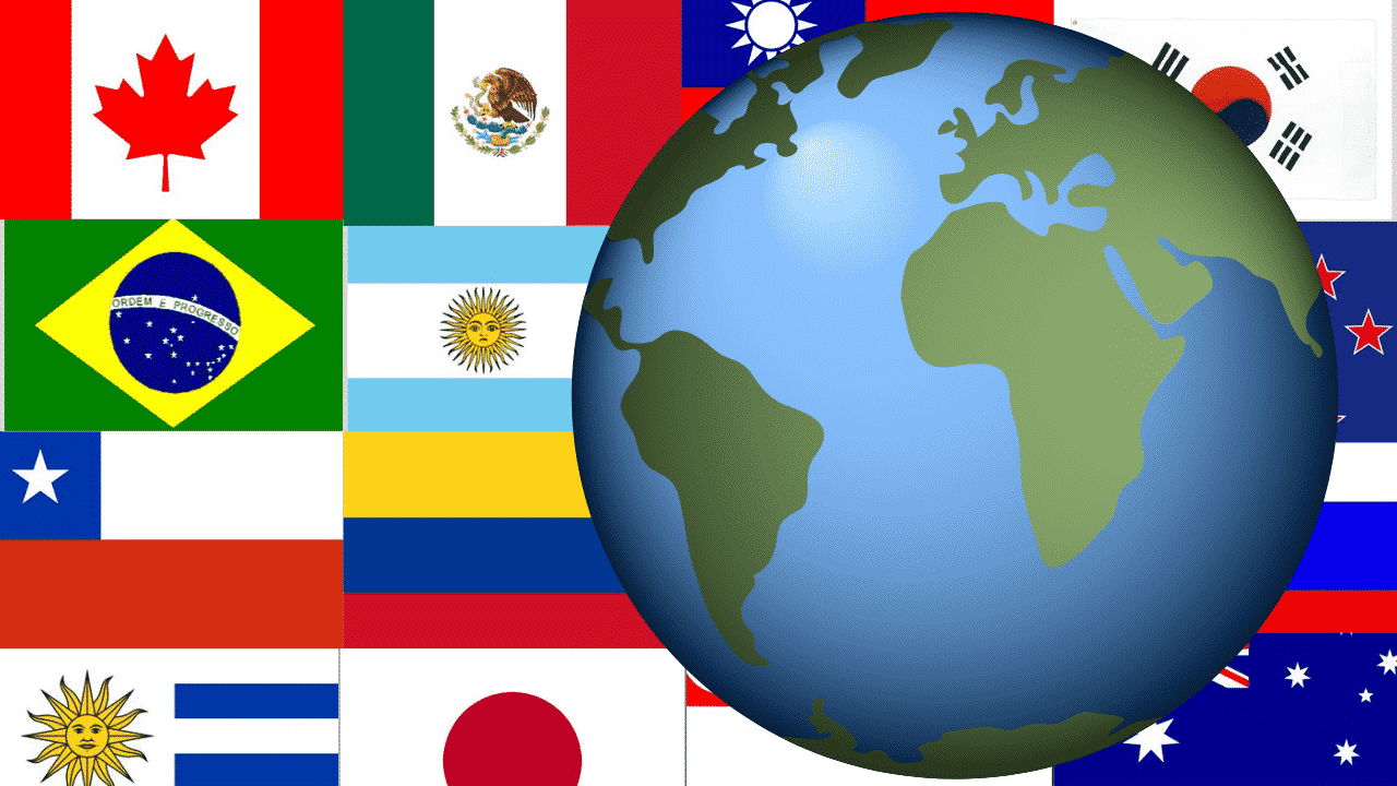 pays à PVT
